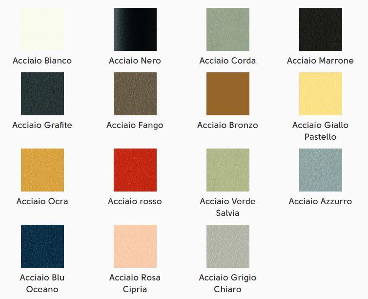colori metallo